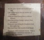 Just Listen - JGB's note posted on her table
