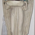 An Angel welcoming me at Joni's home in Chilliwack as I enter