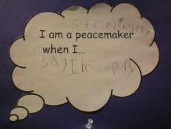 """I am a peacemaker """"Say Sorry"""""""