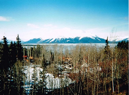 Atlin BC look out