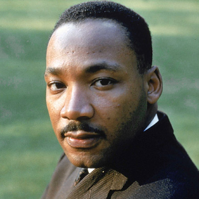 Martin Luther King, Jr. Happy Birthday to You.