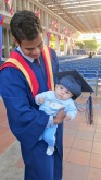 Graduation Day with Dad