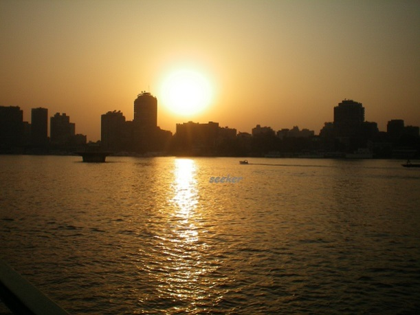Sunset At Nile River