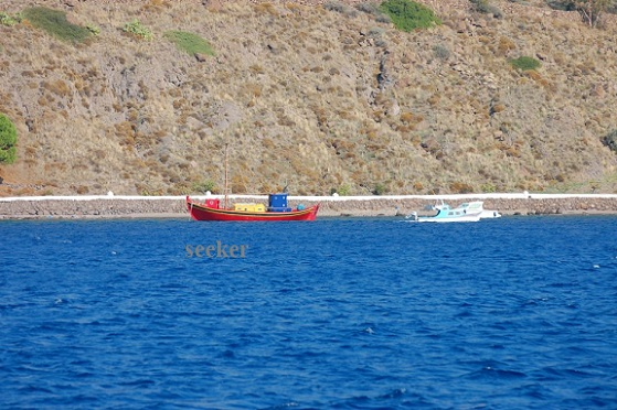 From Turkey to Patmos, Greece