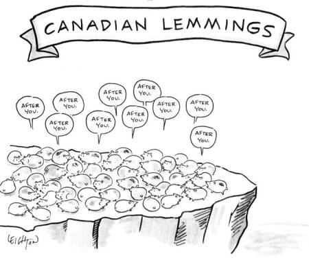 Canadian Lemings