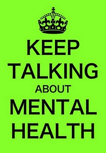 keep talking about mental health