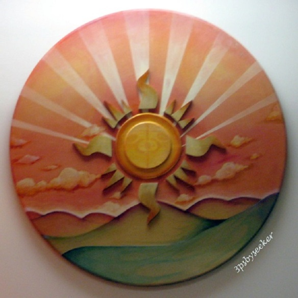 """Sun"" ~ High school students' artwork"
