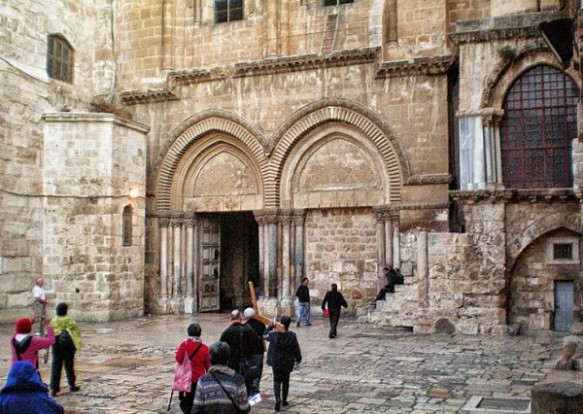 Wall Holy Sepulchre