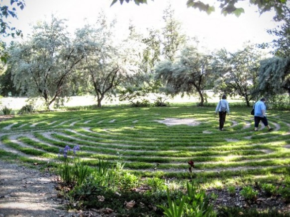 Labyrinth at Naramata
