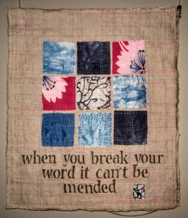 Broken Words can't be mended