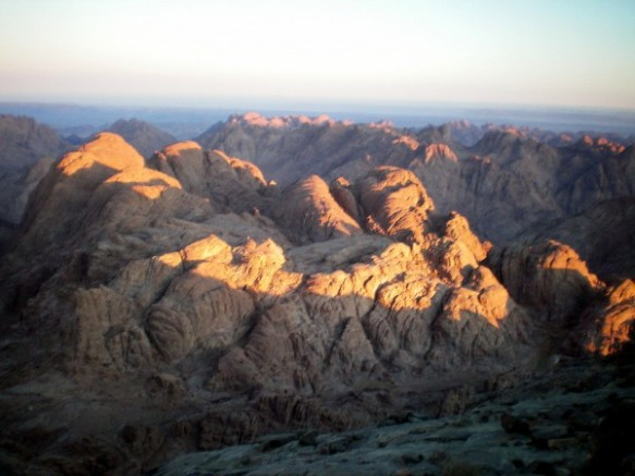 Sunrise at Mt. Sinai