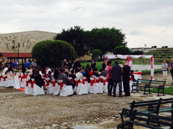 The Fort now became a famous wedding spot.