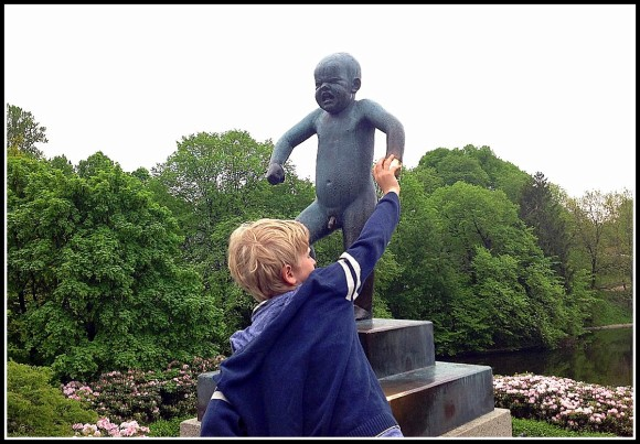 Angry Child Statue, Norway
