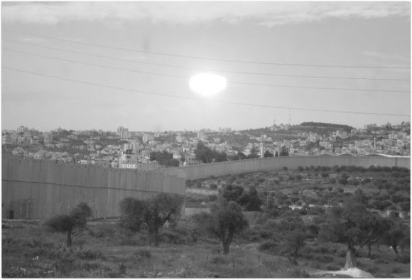 The Wall surrounding Bethlehem