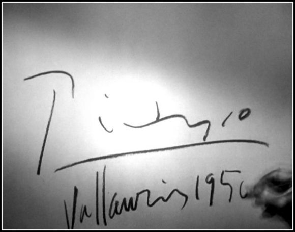 Signed: Picasso 1950