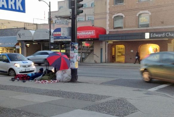 Summer Vancouver Homeless
