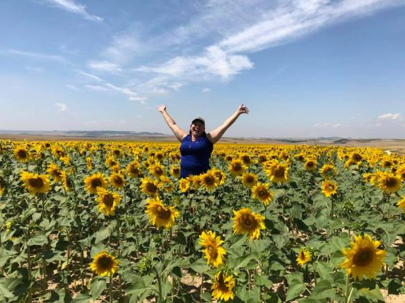 Sunflowers and Nicole